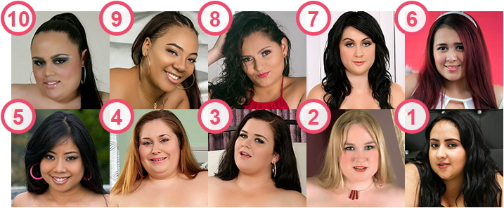 TOP 10 hottest large BBW ladies Under 30