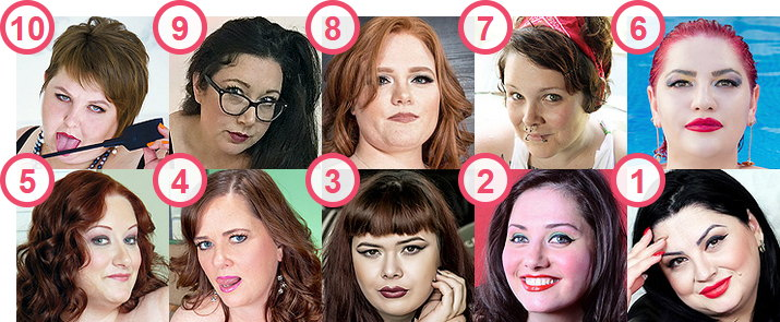 TOP 10 most searched Pale White skin BBW Cam girls